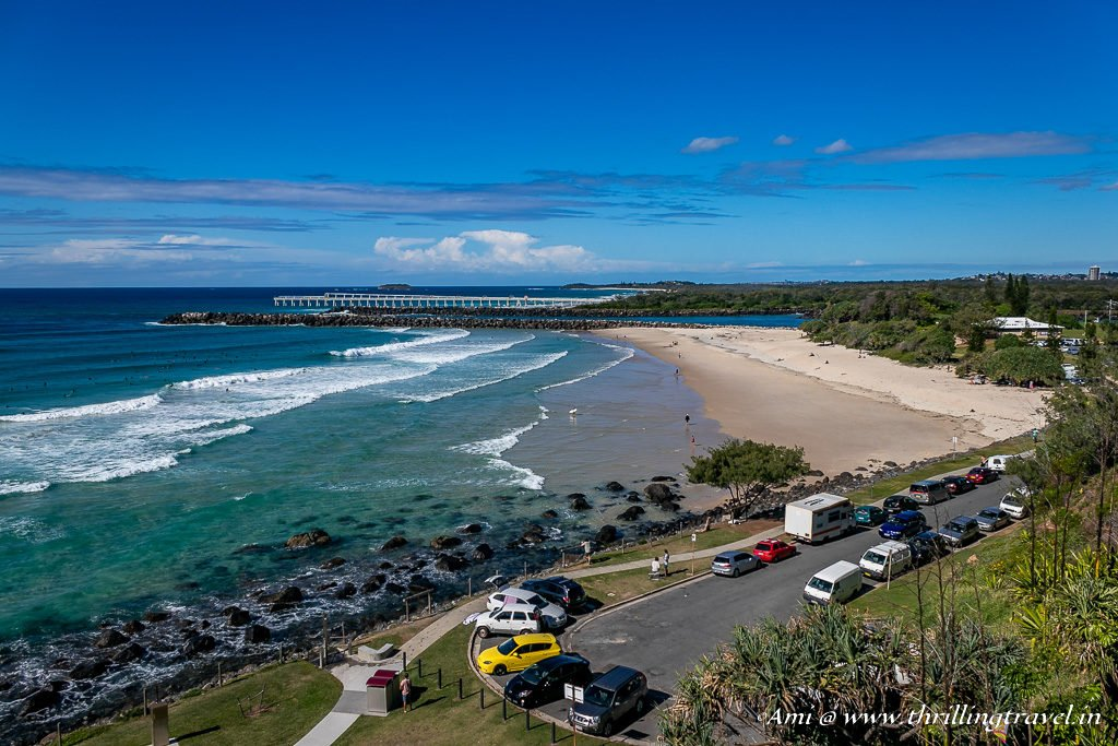 Snapper Rocks on Coolangatta Beach - One of the Beaches of Gold Coast