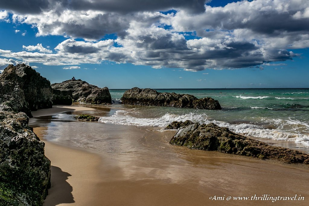 The Rocky yet soft Currumbin Beach -One of the beaches of Gold Coast