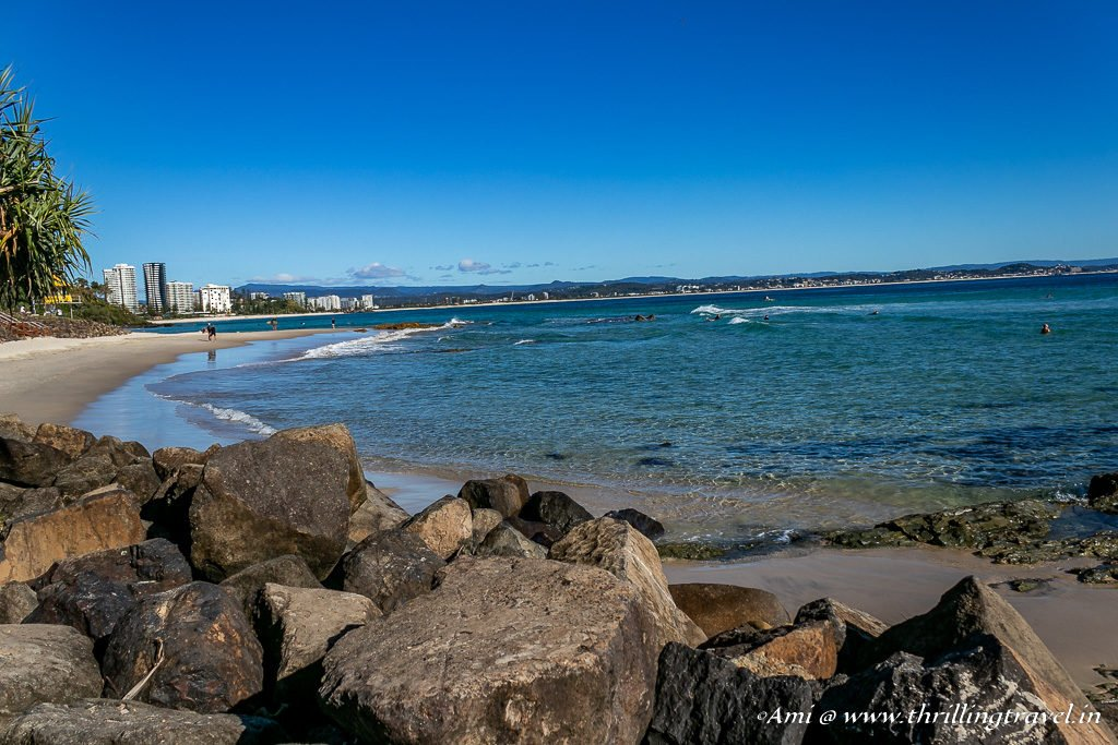 Kirra Beach - one of the Beaches of Gold Coast