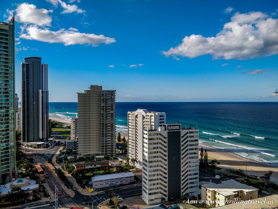 Surfers Paradise from my balcony