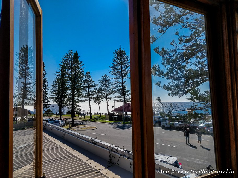 View from Cafe D Bar_Snapper Rocks_Gold Coast beaches