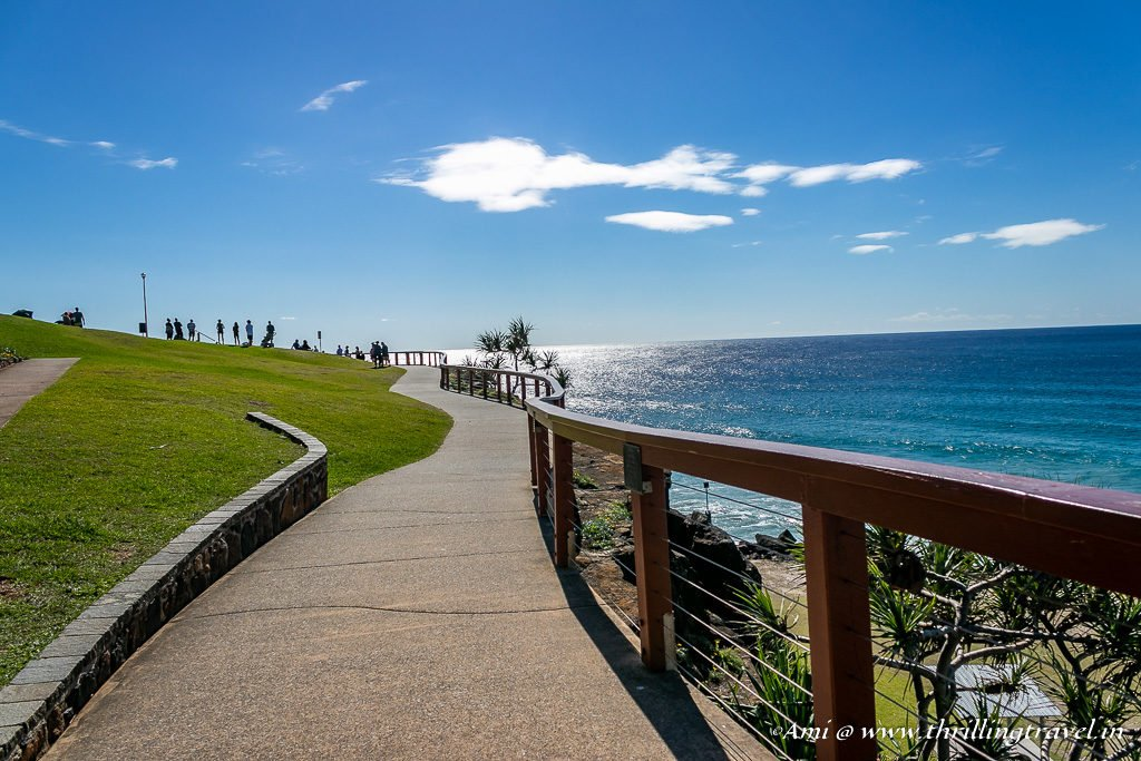 Walk of Remembrance along Coolangatta Beach, One of the Beaches of Gold Coast