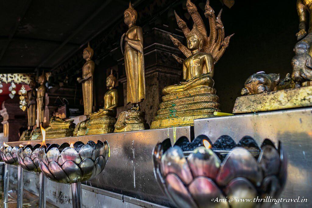 The various Buddha Idols around Doi Suthep Temple