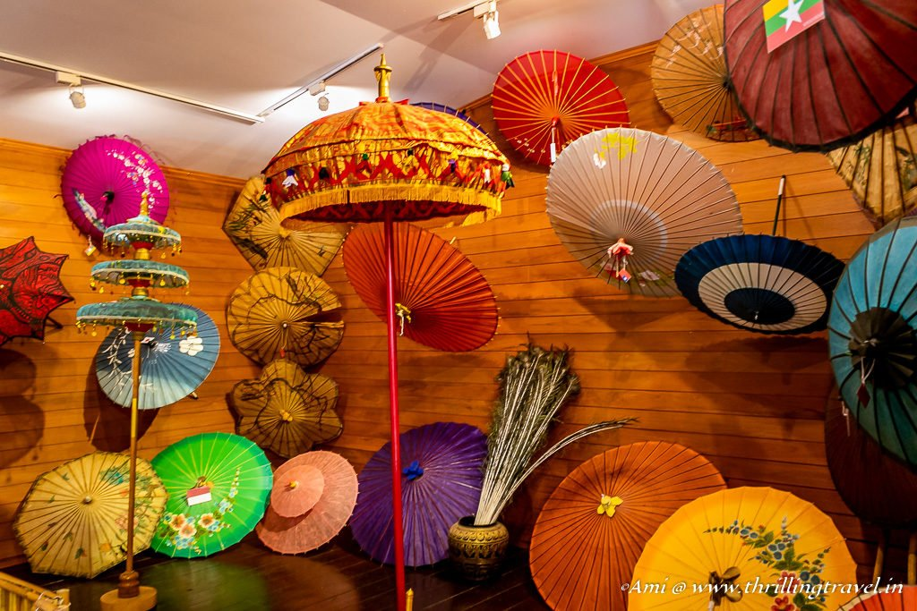 Bo Sang Umbrella Exhibition at the Chiang Mai Handicraft Village
