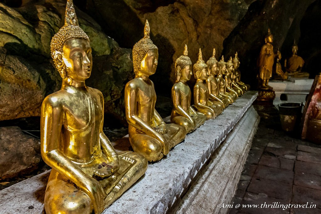 Row of Buddha in Cavern 2