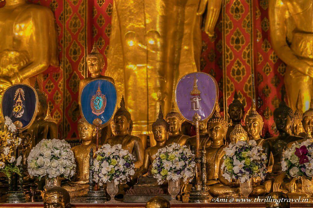 Buddha Statues found at Wat Chedi Luang