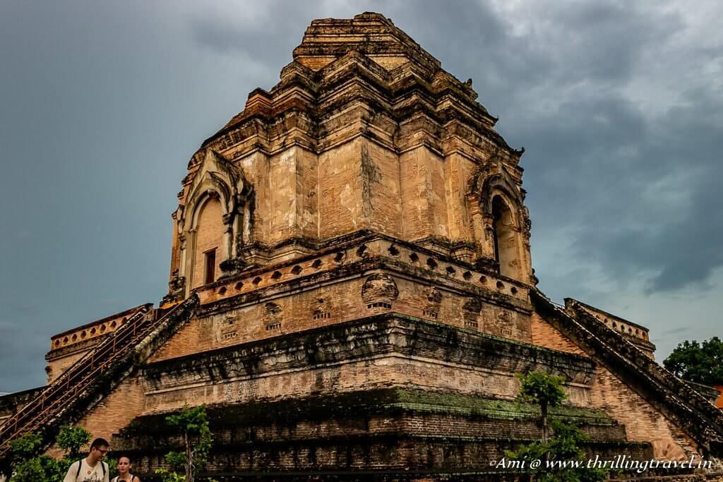 Collapsed Pagoda at Wat Chedi Luang, Chiang Mai