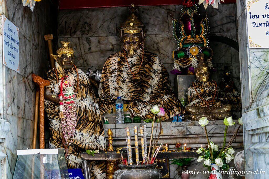 Statue of Suthep at Wat Phra That Doi Suthep