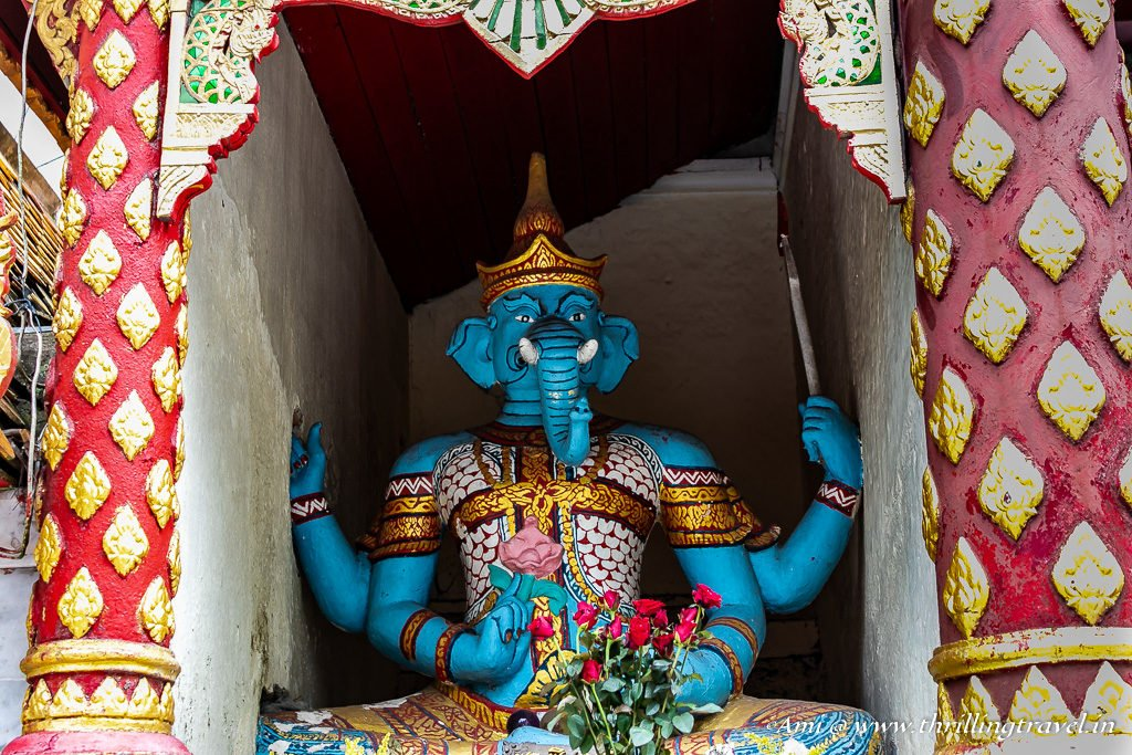 Ganesha at Wat Phra That Doi Suthep Temple