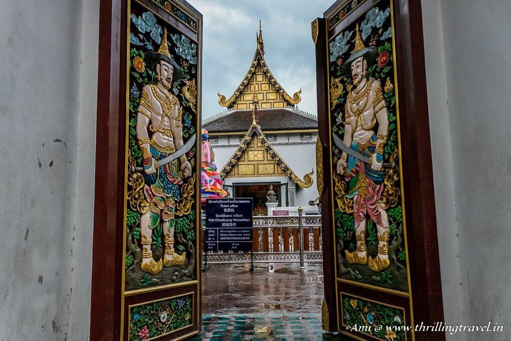 Gates of Wat Chedi Luang