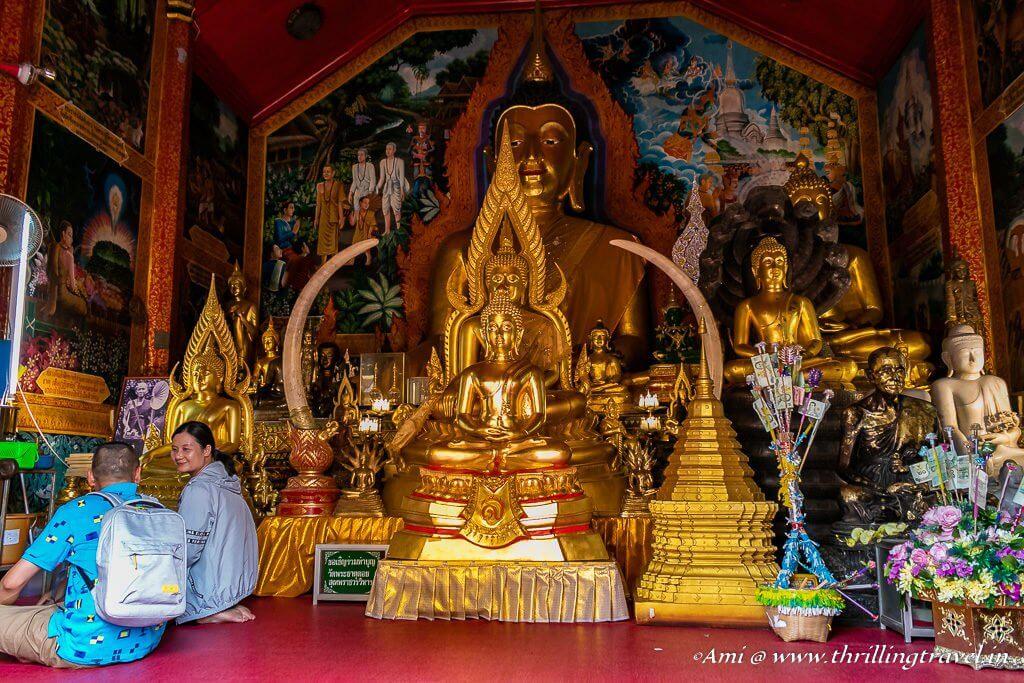 Inside the shrine of Wat Phra That Doi Suthep Temple_Chiang Mai
