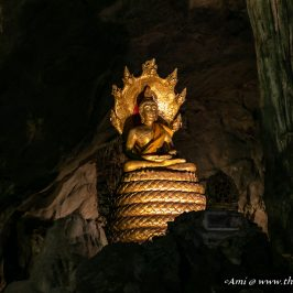 My favorite Buddha Image in Cavern One of Khao Luang Cave