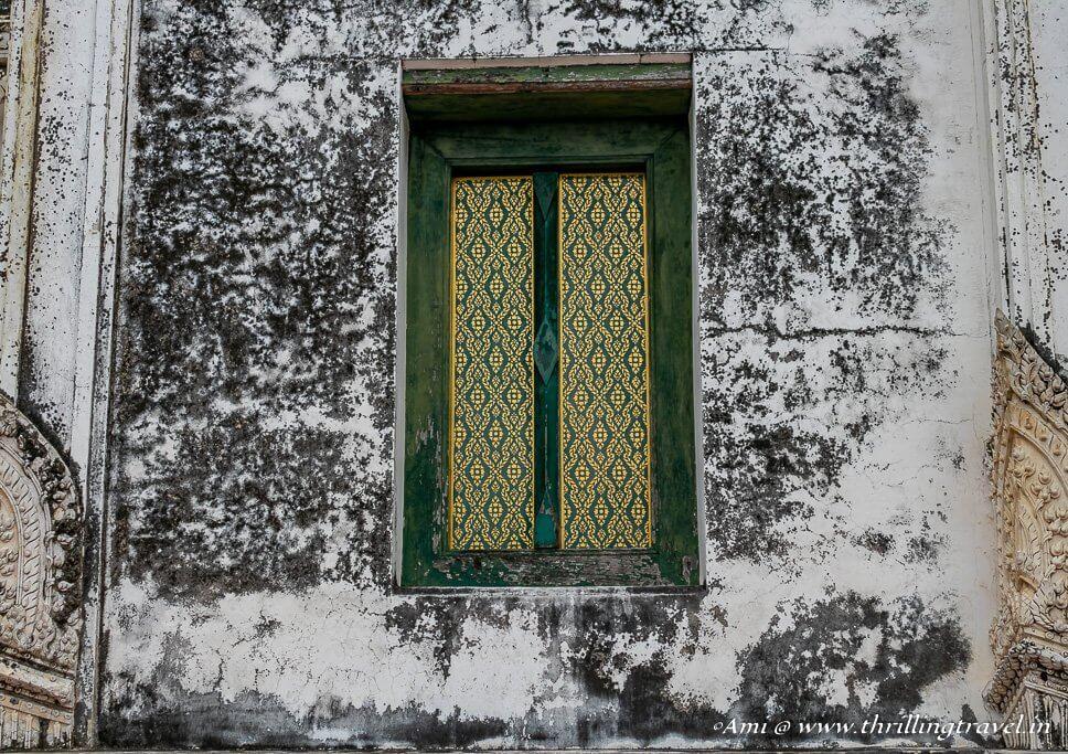 Beautiful Windows of the Khao Wang Palace