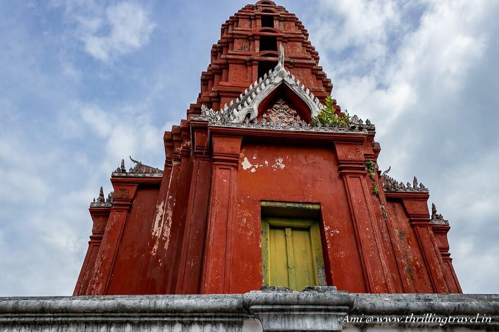 Chedi Daeng (Red Pagoda) of Phra Nakhon Khiri Palace