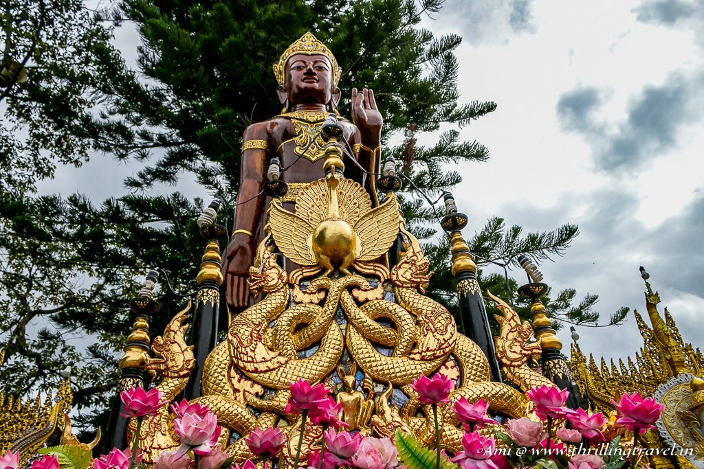 Another statue of the King at Wat Phra That Doi Suthep Temple