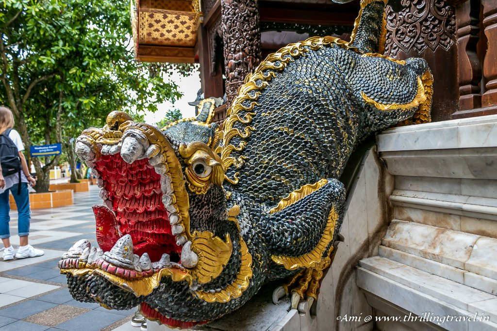 MOM - the mythical Thai guardian at Wat Phra That Doi Suthep Temple