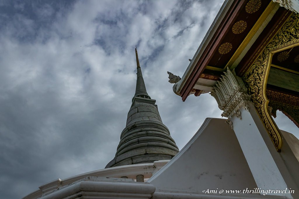 Chedi behind the Temple of the Emerald Buddha