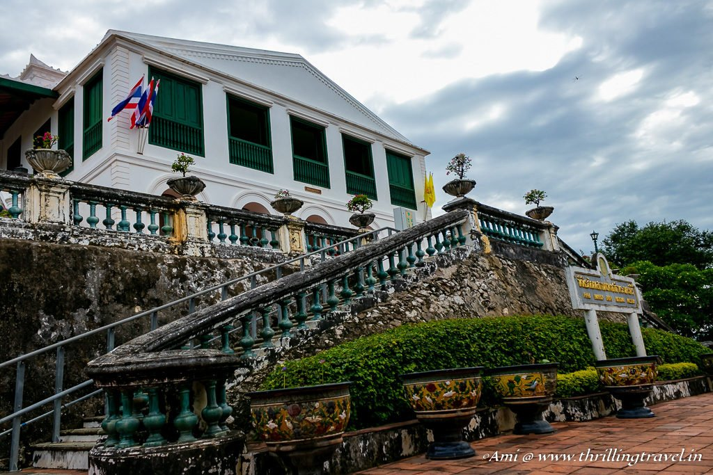 The Throne Room and Residential dwellings of Phra Nakhon Khiri Palace