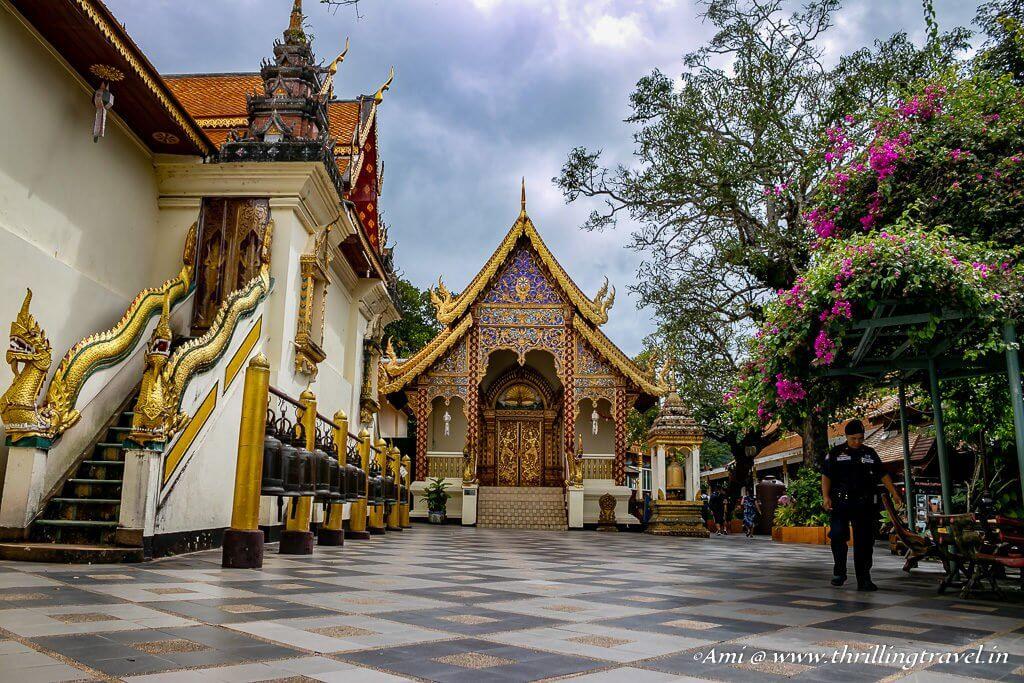 Smaller temple of Wat Phra Doi Suthep_