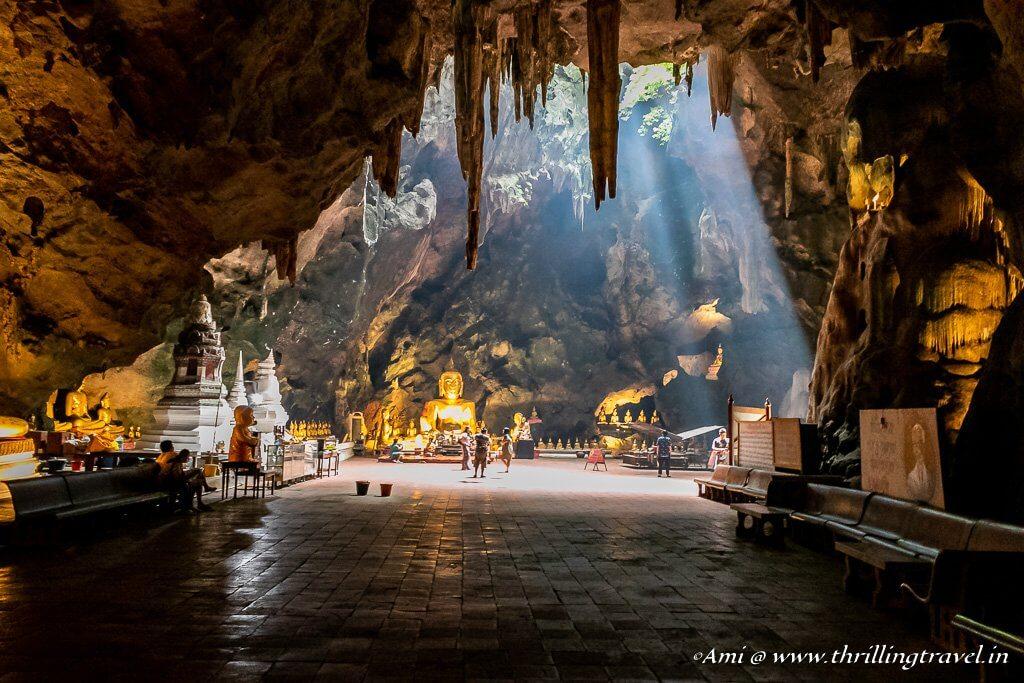 Treasures of the Khao Luang Cave in Phetchaburi