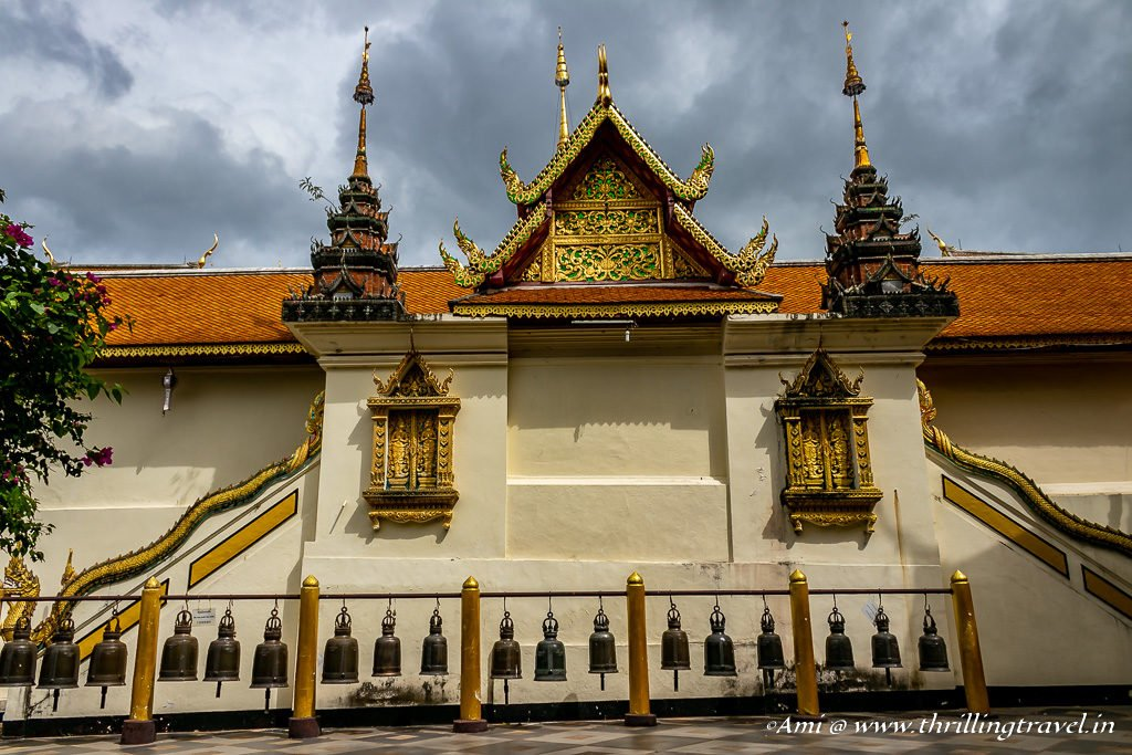 The architecture of Wat Phra That Doi Suthep Temple