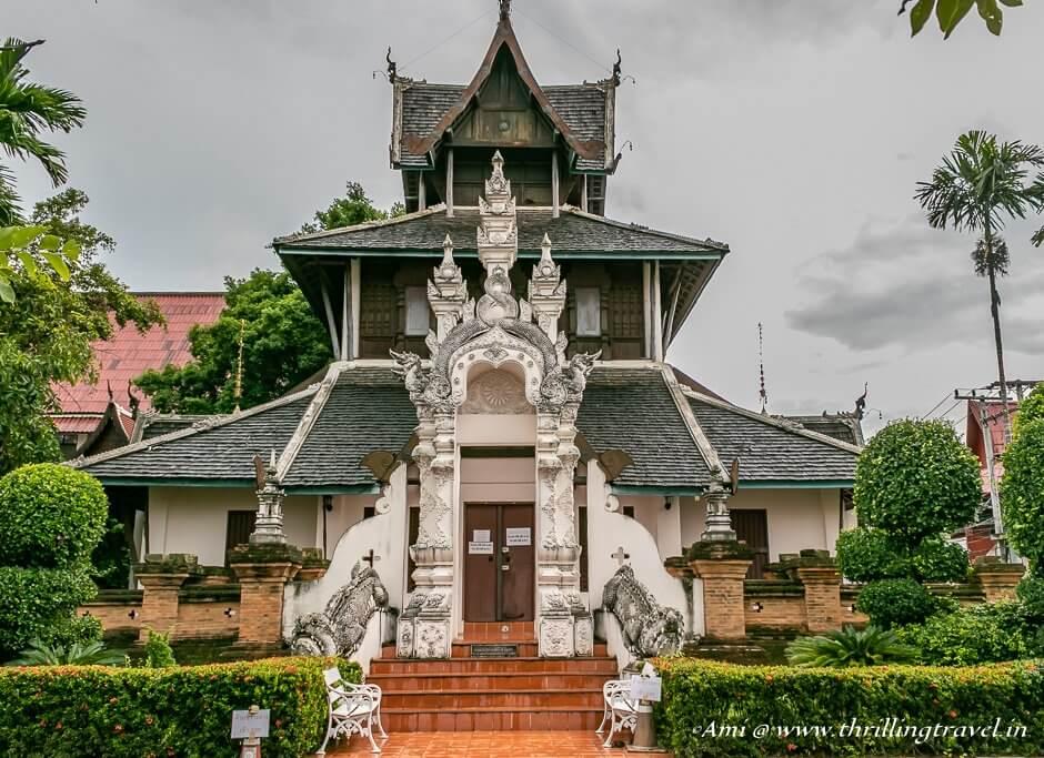 The ubosot of Wat Chedi Luang, Chiang Mai