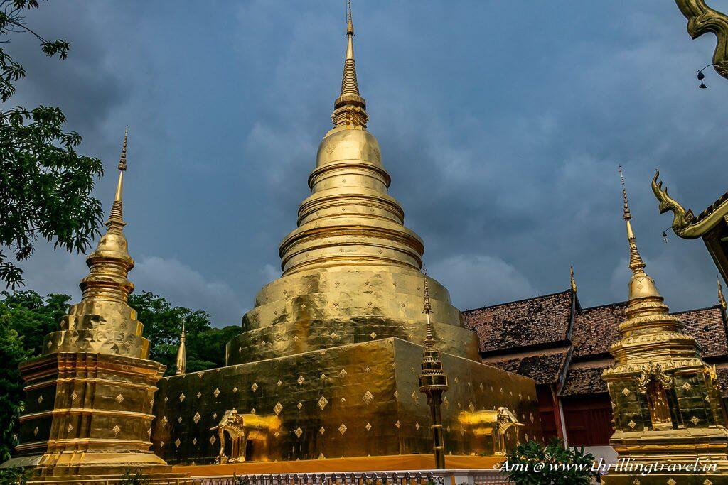 Chedis of Wat Phra Singh