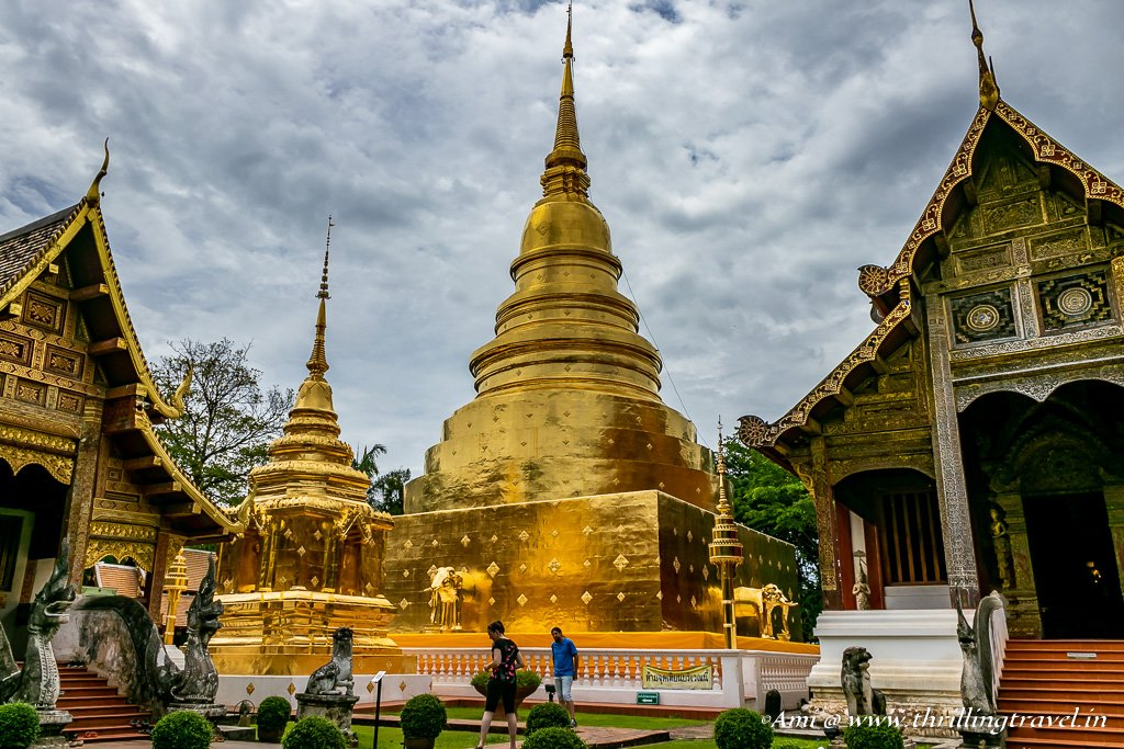 Wat Phra Singh in Chiang Mai, Thailand