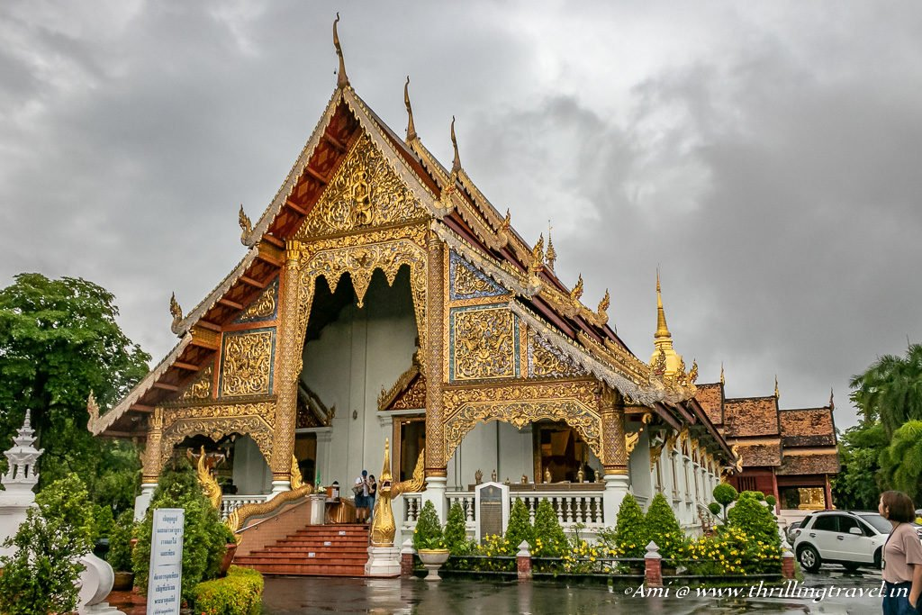 Wiharn Luang in Wat Phra Singh at Chiang Mai, Thailand