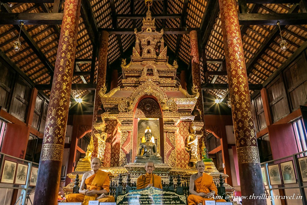 Inside the Ubosot of Wat Phra Singh_Chiang Mai