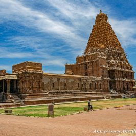 The main shrine is just one of the many things to see in the Big Temple, Thanjavur