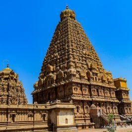 Ganesha Shrine behind the main Brihadeeswarar Temple