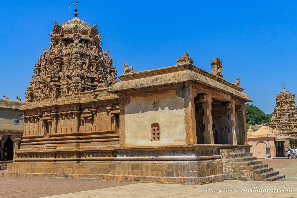 Ganesha Shrine of Brihadeeswara Temple, Tanjore