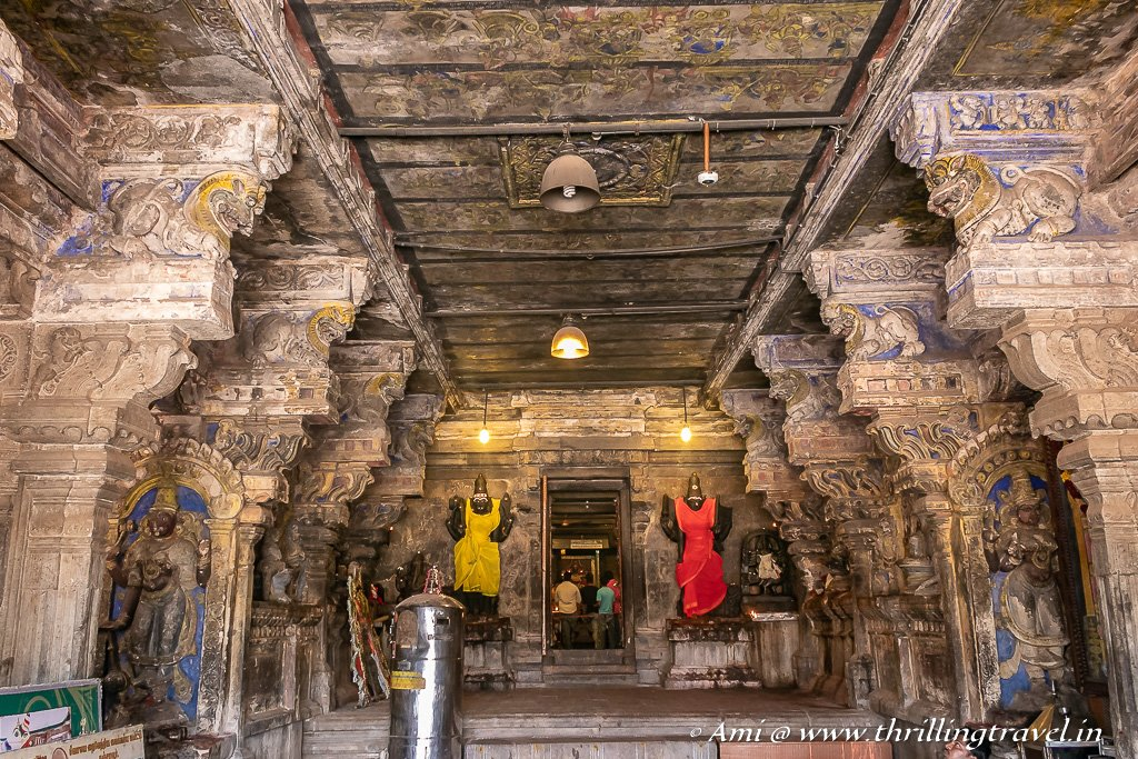 Inside Amman Shrine, Brihadeeshwarar Temple