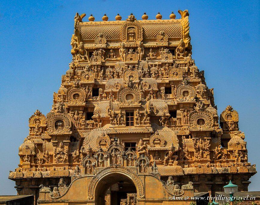 Keralatakan Gopuram at Brihadeeswarar Temple