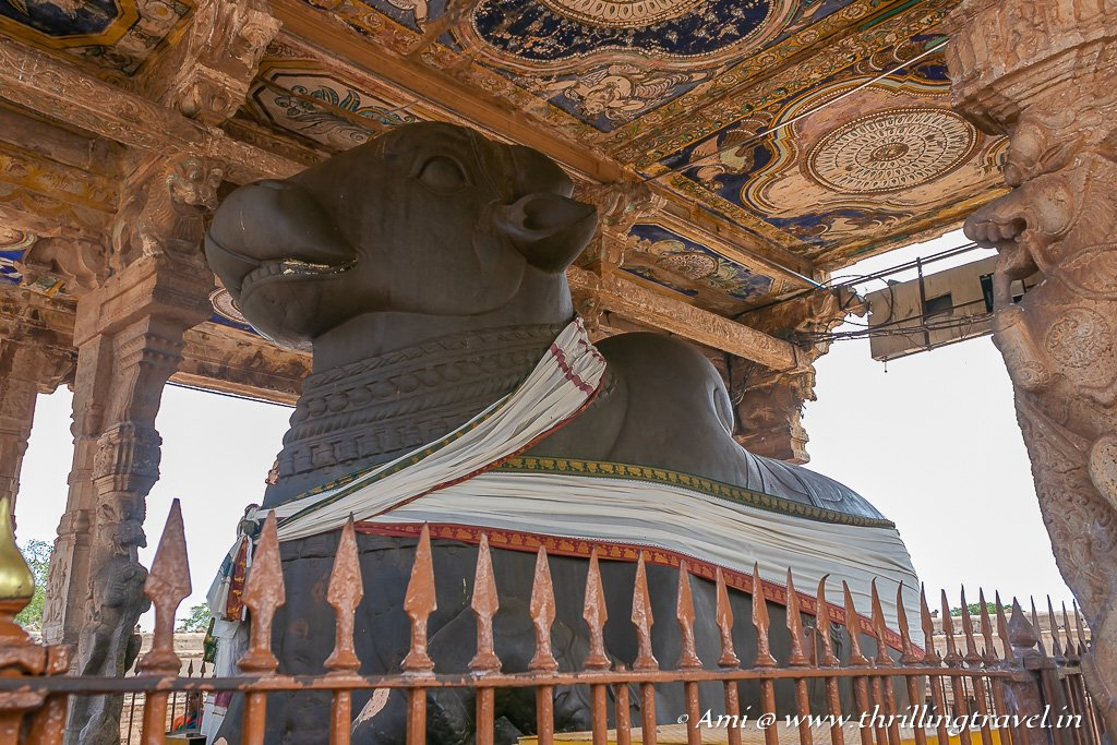 Nandi at Thanjavur Temple