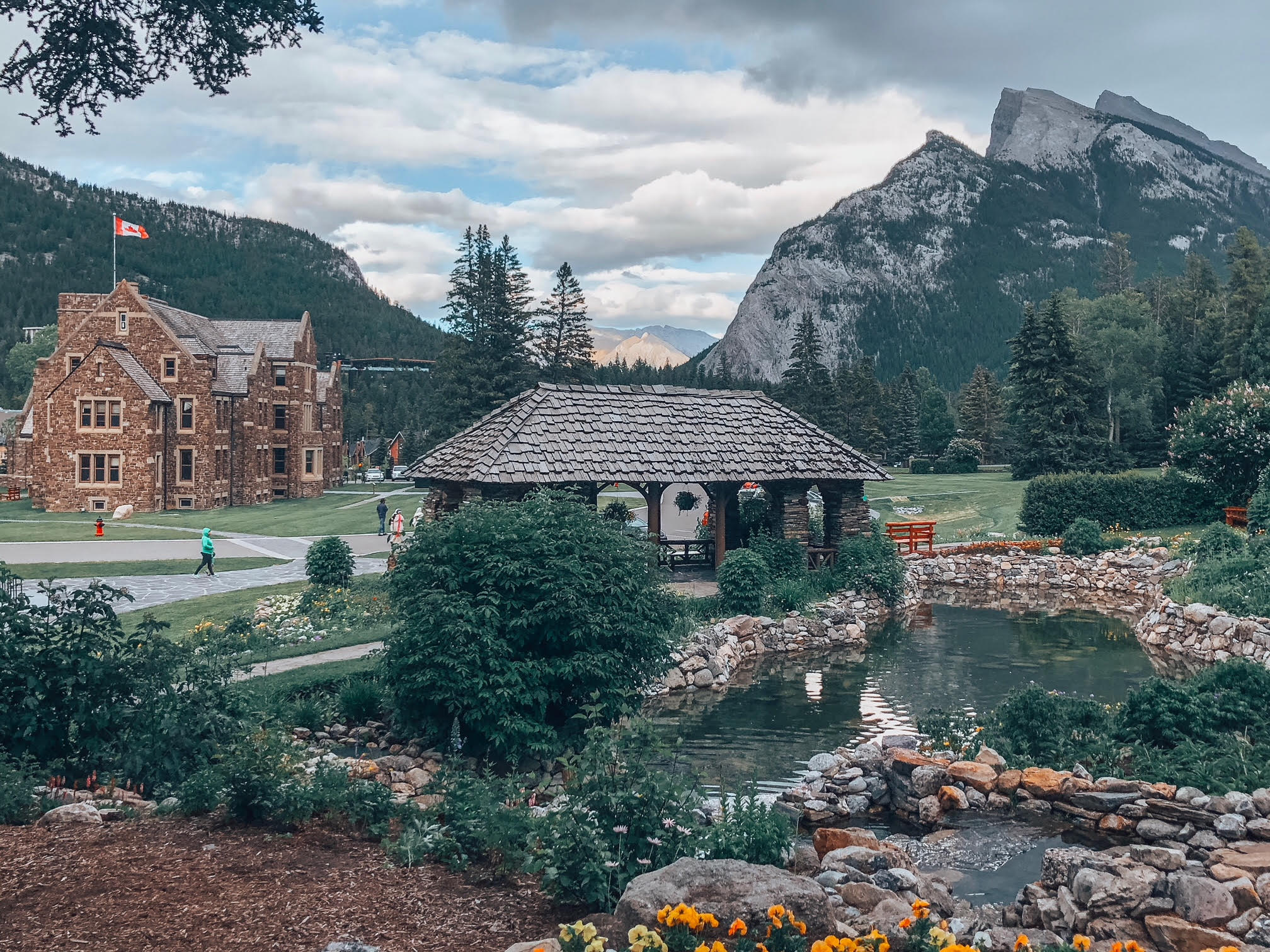 Things to do in Banff- Cascade Gardens