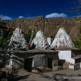 The Chortens at Alchi Gompa