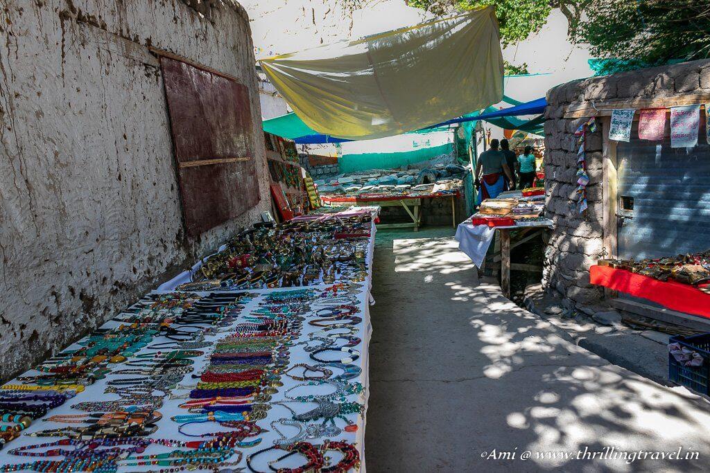 Alchi Village Street Market