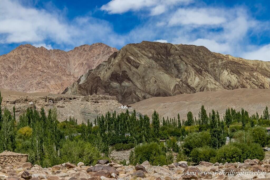 Alchi Village in Ladakh