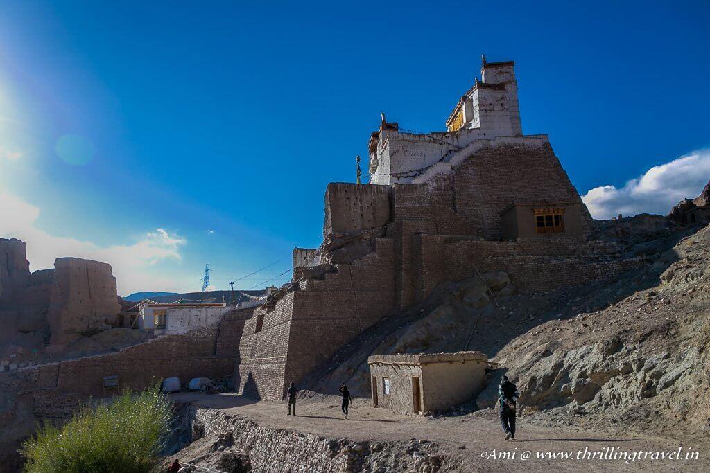 Chamba Lhakhang - the highest point of the Basgo Monastery, Ladakh