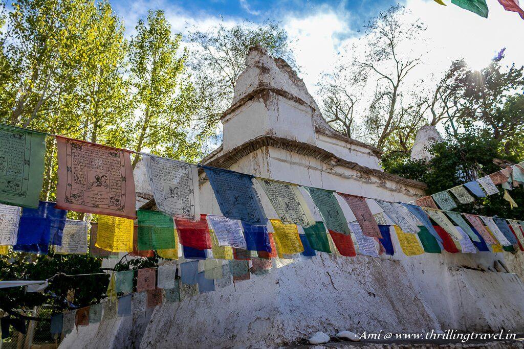 Chortens at Alchi Monastery