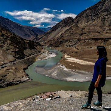 Where Colors merge – Confluence of Indus & Zanskar in Ladakh