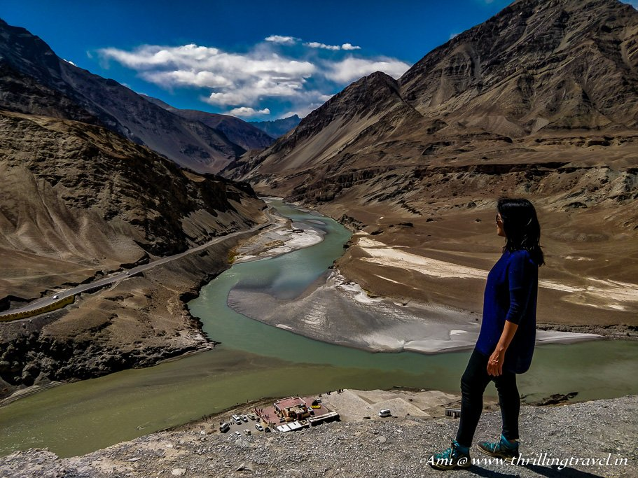 Mesmerized by the colors of the Confluence of Indus and Zanskar