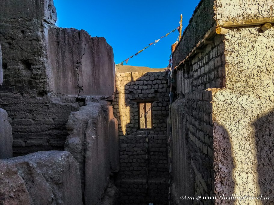Ancient windows of Basgo