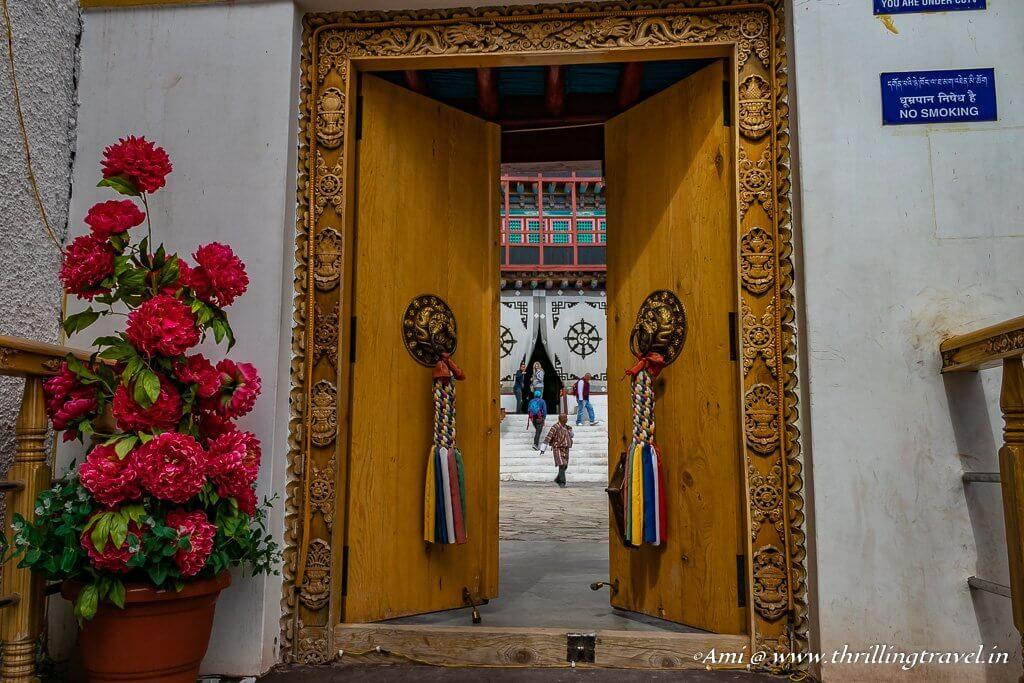 Doors of Hemis Monastery, Ladakh