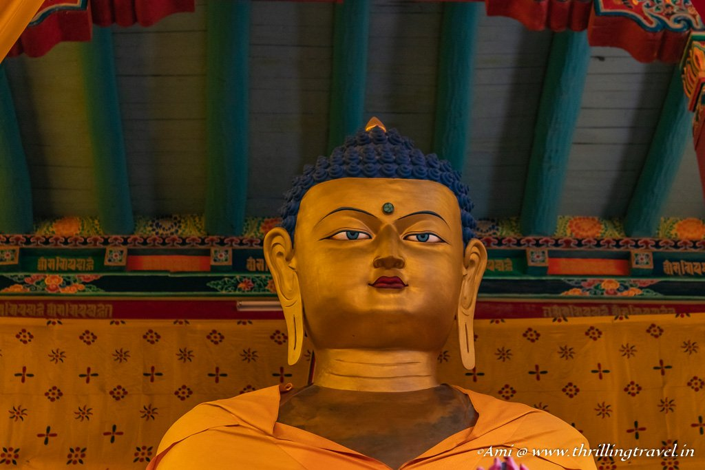 The serenity of the Golden Buddha