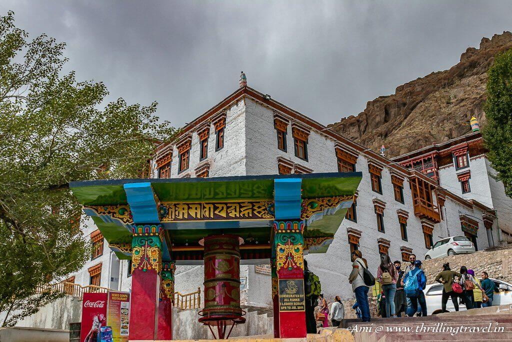 Entrance to Hemis Monastery