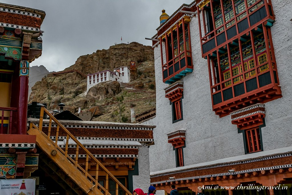 A little like Paro Taktsang and a little like the Bhutan Dzongs - Hemis Monastery