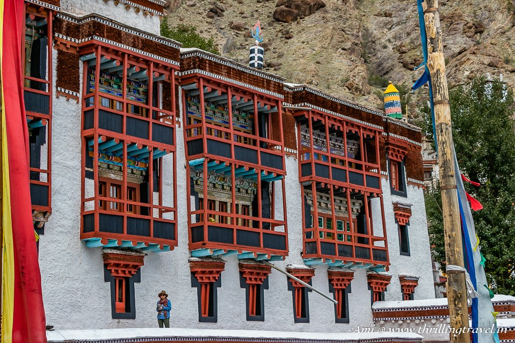 Hemis Monastery in Leh, Ladakh